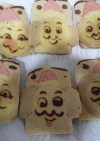 キャラ弁にトーマスのお絵かきホットケーキ