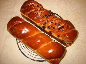 パンの成形*ネジネジ2種類のツイスト成形*