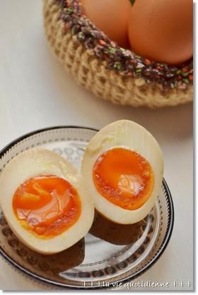 半じゅる卵de味たまご☆