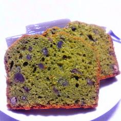 米粉☆抹茶パウンドケーキ