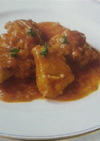 鳥肉のパプリカ煮〜トマト風味♪