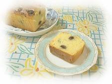 ホットケーキミックスで【ブルーベリーケーキ♪】