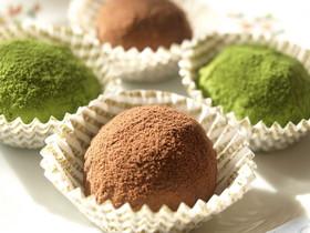 超簡単☆豆腐チョコトリュフ