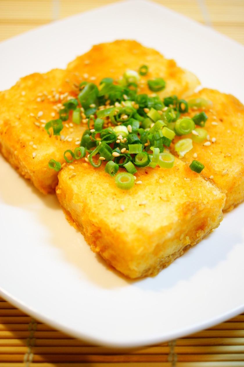 ✿豆腐のごま味噌生姜焼き✿