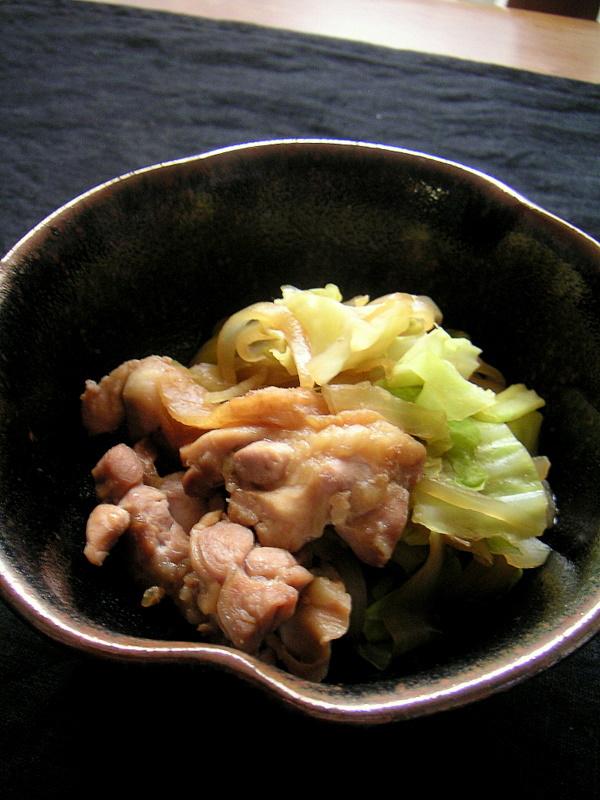 鶏すき煮我が家流