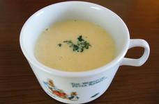 安心幼児食☆娘大好きシンプルコーンスープ