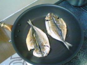 お魚の干物の美味しい焼き方♪