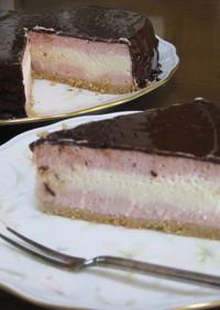 ~大切な人へ~チョコレアチーズケーキ