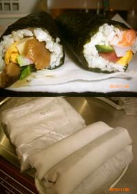 巻き寿司の保存方法(ばあちゃん伝)
