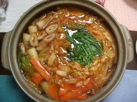 ヘルシーキムチ鍋