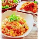 我が家の炒飯❤鮭フレーク炒飯