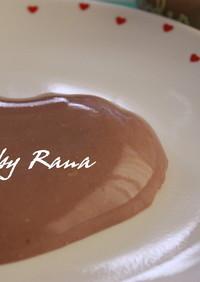 バレンタインに♪お豆腐で濃厚チョコプリン