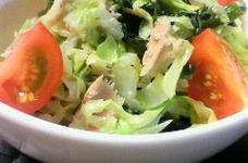超簡単♪白菜とキャベツのホットサラダ★