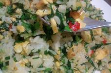 冷凍ご飯で☆ほうれん草と卵のチャーハン