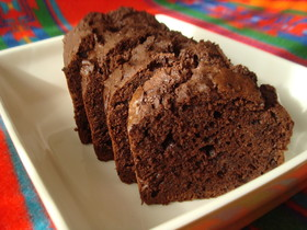 バターが無くても…簡単チョコレートケーキ