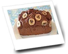 ホットケーキミックスで【チョコバナナケーキ♪】