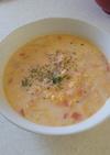 【10分で完成!】鮭と野菜のミルクスープ