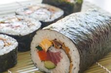 のの字巻き☆海鮮太巻き寿司