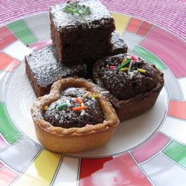 バレンタインに簡単チョコレートケーキ