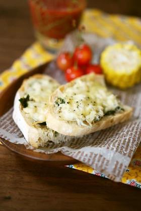 朝食に♪しらすの和風チーズトースト
