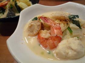 海鮮豆乳キムチ鍋