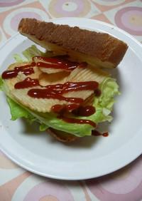 私的ヒット☆ポテトチップスサンドイッチ