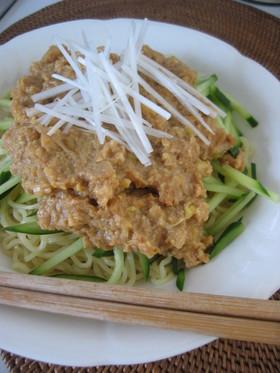 肉なし!大豆deジャージャー麺