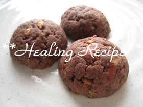 ●豆乳ココアのナッツクッキー●マクロビ