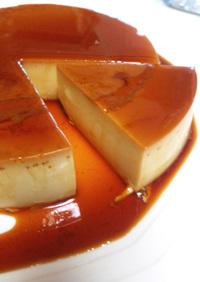 ケーキ型で焼くカスタードプリン/紅茶味も