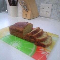 ココナッツオイルで☆バナナパウンドケーキ