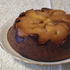 ガトー・ショコラ・ポム❖林檎チョコケーキ