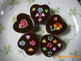 簡単!バレンタイン デコチョコ