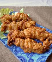 ウチの鉄板!鶏ささみのカリカリから揚げの写真
