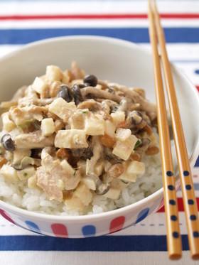 納豆のまぜこぜ健康ご飯
