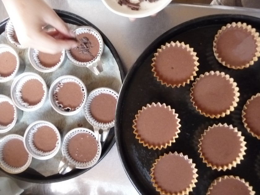 プチフール・チョコレートマドレーヌ
