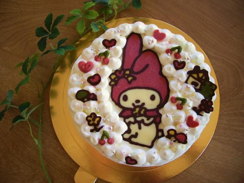 誕生日ケーキに♪チョコキャラクターケーキ