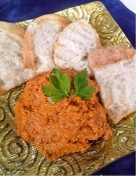 トルコ料理☆赤ピーマンのスパイスペースト