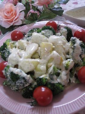 ブロッコリーとじゃが芋のヨーグルトサラダ