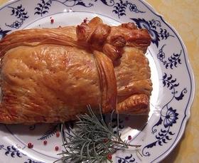 豪華で安い 塩鮭のロシア風パイ
