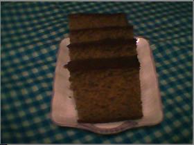 カステラ応用編 緑茶で抹茶カステラ