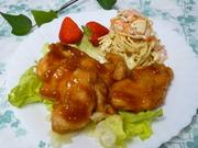 ✿揚げない!鶏胸肉で柔らかケチャップ煮✿の写真