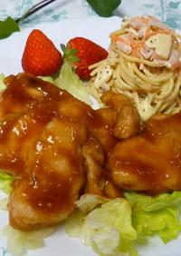 ✿揚げない!鶏胸肉で柔らかケチャップ煮✿