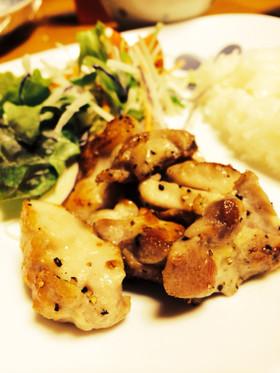 シンプル美味☆*鶏もも肉塩胡椒焼き*☆