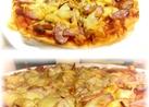 簡単ソーセージピザ