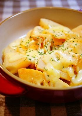 ✿筍のチーズ焼き✿