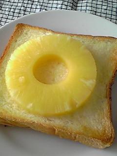 簡単!ジューシー!パイナップルトースト