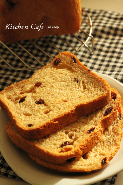 HB黒糖レーズンミルク食パン