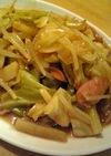 カレー味☆こどもの好きな野菜炒め