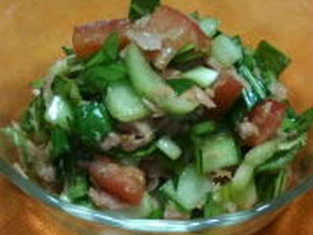 チンゲン 菜 サラダ