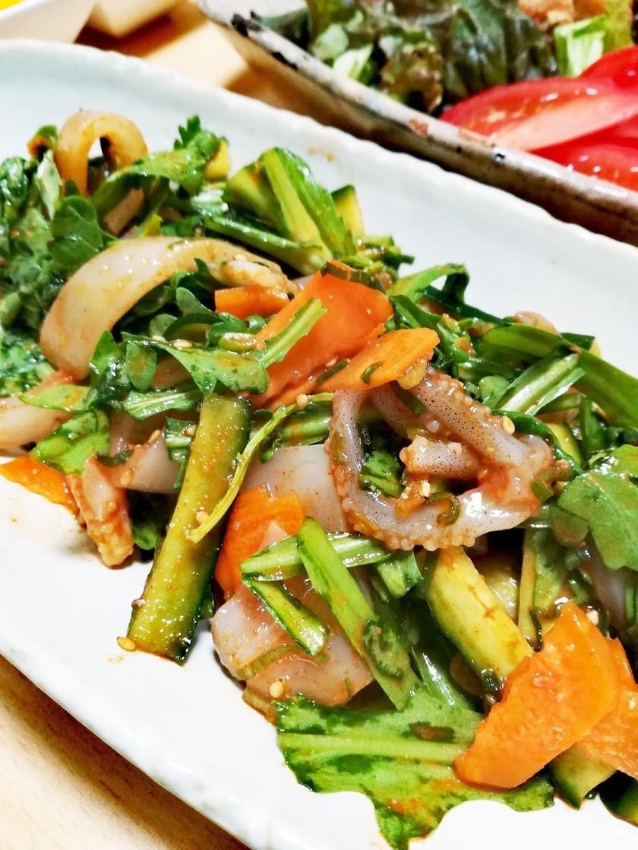 我が家のフェ~韓流お刺身の食べ方~
